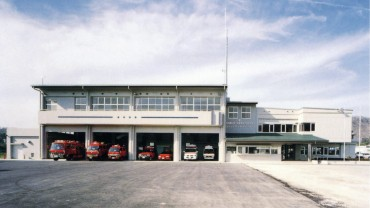 1998.03 佐用郡広域行政事務組合消防本部庁舎(増改築)