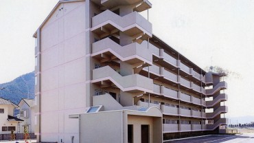 1995.03 近畿財務局西脇合同宿舎(ハンシン・三和建設共同企業体)